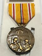 Asiatic–pacific Campaign Medal And Ribbon Set Was Sealed In Plastic