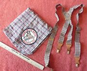 Boy Scouts Of America Neckerchief Order Of The Arrow Mauwehu 389 And Suspenders
