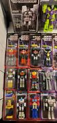 Super7 Transformers Complete Reaction Wave 1 - 3 + All Specials Classic Toys