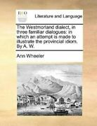 The Westmorland Dialect In Three Famili Like New Used Free Shipping In The Us
