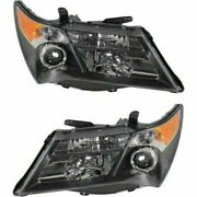 Headlight Set For 2007-2009 Acura Mdx Left And Right With Technology Package 2pc
