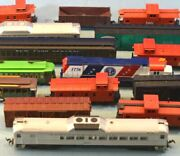Assorted Ho Cars - Salvage Lot Of Eighteen