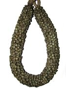 Most Rare Old Bronze Beads Pendant Perfect Full Necklace Of Chin People 5 Photo
