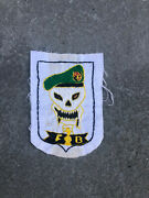 Macv Sog Patch Fob 1 Phu Bui Special Forces Given To Recon Pilot By Sog Soldier