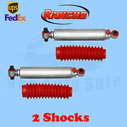 Rancho Rs9000xl Front 0 Lift Shocks For Chevy Blazer 4wd 92-94 Kit 2
