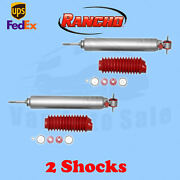 Rancho Rs9000xl Front 0 Lift Shocks For Jeep Cherokee Xj 4wd 84-97 Kit 2