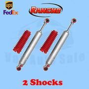 Rancho Rs9000xl Front 4 Lift Shocks For Chevy Blazer 4wd 92-94 Kit 2