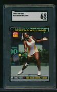 1999 Sports Illustrated For Kids 814 Serena Williams Sgc 6 Rc Rookie Card