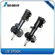 Front Right+left Gas Shocks And Struts Fit 2003 2004 2005 2006 2007 Toyota Corolla
