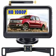 F08 Wireless Backup Camera And Monitor System Hd 1080p For Cars Trucks Atvs