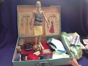 1940s Mannequin Doll With 2 Butterick Junior Miss Patterns Set 1 And 7 Box Stand