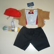Nwt Build A Bear Dr Who Doctor Costume W Sonic Screwdriver Clothes New