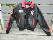 Vintage Betty Boop Biker Leather Jacket American Toons By Excelled Size Large