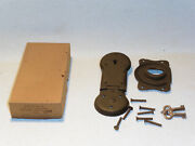 Vintage Nos Excelsior Hardware Co Trunk Tool Box Latch Footlocker Military G22 S