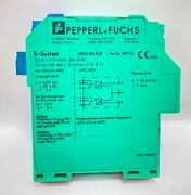 Pepperl Fuchs Kfd0-ro-ex.2 38975s Relay Module 2-channel Isolated Barrier