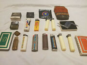 Antique Lighters, Perfume, Cards, Knife, Case, Misc. Vintage, Collectibles