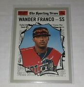 2019 Topps Heritage Minor League 190 Wander Franco Bowling Green Hot Rods Tampa