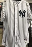 Alex Rodriguez Game Used Yankees Jersey And Pants Pinstripe 13 Uniformcoa Steiner