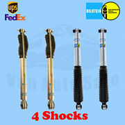 Bilstein B8 5100 4-6 Front And 2-4 Rear Lift Shocks For Chevy 4wd 95-`99 Kit 4