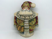 7 Wooden Russian Carved Santa Father Frost, Ded Moroz Hand Carved Painted