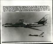 1970 Press Photo Russian Built Badger Bomber Planes Fly Over The Mediterranean
