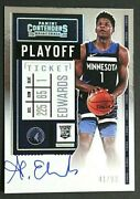 2020-21 Contenders Anthony Edwards Rookie Playoff Ticket Variation Auto 41/99 💎