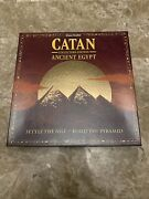 Catan Ancient Egypt Collectors Edition Board Game Rare Oop 2004 Played Once