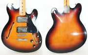 Squier By Fender Classic Vibe Starcaster 3sb Starcaster Semi-aco 2019 Made Squ