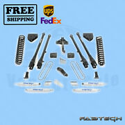 6 4 Link System W/ Shocks Fabtech For Ford F350 4wd 2008-16