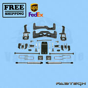 6 Basic Syst W/ Front Coilover And Rear Ss Shocks Fabtech For Ford F150 4wd 09-13