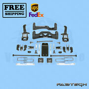 6 Basic Syst W/ Front Coilover And Rear Shocks Fabtech For Ford F150 4wd 09-13
