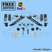 7 Radius Arm Sys W/coil Springs And Frontandrear Shocks Fabtech For 14-17 Ram 2500