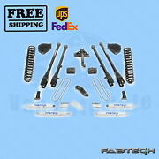 6 4 Link System W/ Shocks Fabtech For Ford F250 4wd 2017