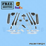 4 4 Link System W/ Shocks Fabtech For Ford F250 4wd 2017