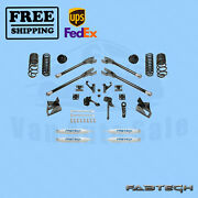 7 4 Link Syst W/coil Springs And Shocks Fabtech For 14-17 Ram 2500 4wd