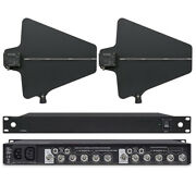 Uhf Active Directional Antenna Power Distribution System For Shure Wireless Mic