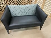 Disneyand039s Contemporary Resort Guest Room Sofa With Hidden Mickey Fabric Pattern