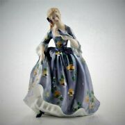 Royal Doulton 6 Elegant And Vintage Mixed Porcelain Figurines. Good Condition.