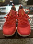 Under Armour Mens Curry 7 Sour Patch Kids Red Sz 9