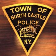 Gemsco Nos Vintage Collectible Patch Police Town Of North Castle Ny Original 55+