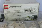 Lego Architecture Studio 21050 Set Unopened Packages Incl Book, 2 Trays 1 Box
