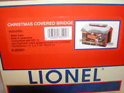 Lionel 6-83291 Christmas Covered 12 Bridge New 2016 Mib O 027 Lighted 1 Lamp