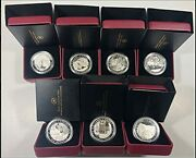 Ca 2012-2013 Canada Complete Group Of Seven 7- Coin Set Mint State