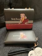 Betty Boop Ladies Purse With Wallet Set