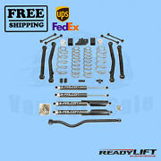 Coil Spring Lift Kit With Shocks 3.5f-3r Readylift For Jeep Jl Wrangler 18-20