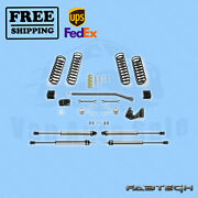 3 Sport Ii Syst W/ 2.25 Non Resi Shocks Fabtech For 07-17 Jeep Jk 2-door 4wd