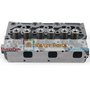 New D1305 Complete Cylinder Head With Valves For Kubota B2710hsd F3060 F3060-r