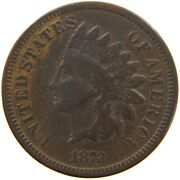 United States Cent 1873 Indian Head T140 419