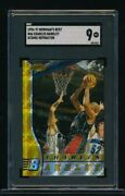 1996-97 Bowmanand039s Best 46 Charles Barkley Atomic Refractor Sgc 9 Mint