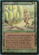 Willow Satyr Legends Heavily Pld Green Rare Magic Mtg Card Id 233906 Abugames